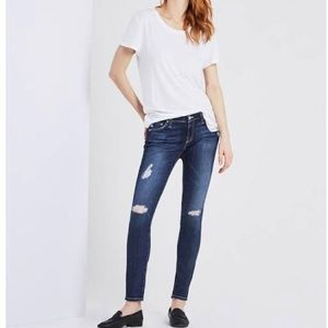 AG Adriana Legging Super Skinny Jeans 25